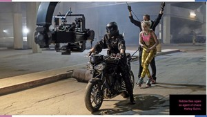 Birds of Prey (2020) Behind the Scenes Still - Margot Robbie as Harley Quinn
