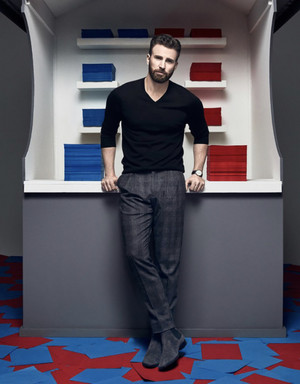 Chris Evans द्वारा Art Streiber WIRED Magazine (2020)