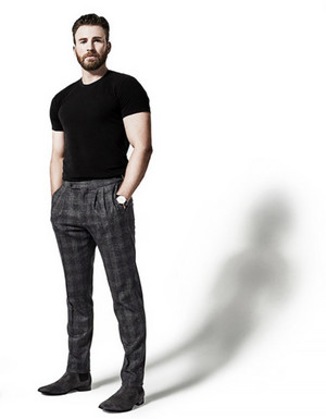 Chris Evans by Art Streiber WIRED Magazine (2020)