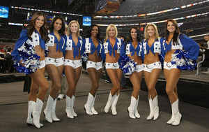 Dallas Cowboys Cheerleaders - 2016 NBA All-Star Game at AT&T Stadium