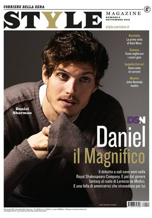 Daniel Sharman - Style Magazine Cover - 2018