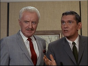 Dick York and David White