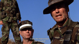 Heartbreak Ridge (1986) Improvise. Overcome. Adapt.
