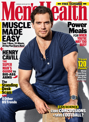 Henry Cavill - Men's Health Cover - 2019