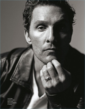 Matthew McConaughey - D La Repubblica Photoshoot - 2017