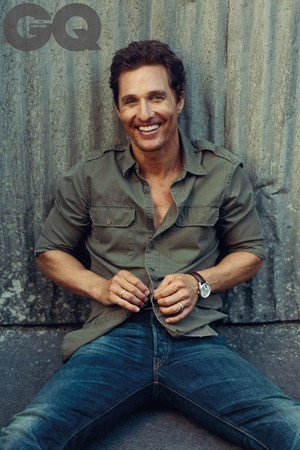 Matthew McConaughey - GQ UK Photoshoot - 2014