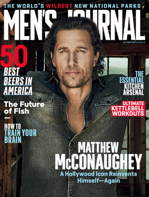 Matthew McConaughey - Men's Journal Cover - 2018