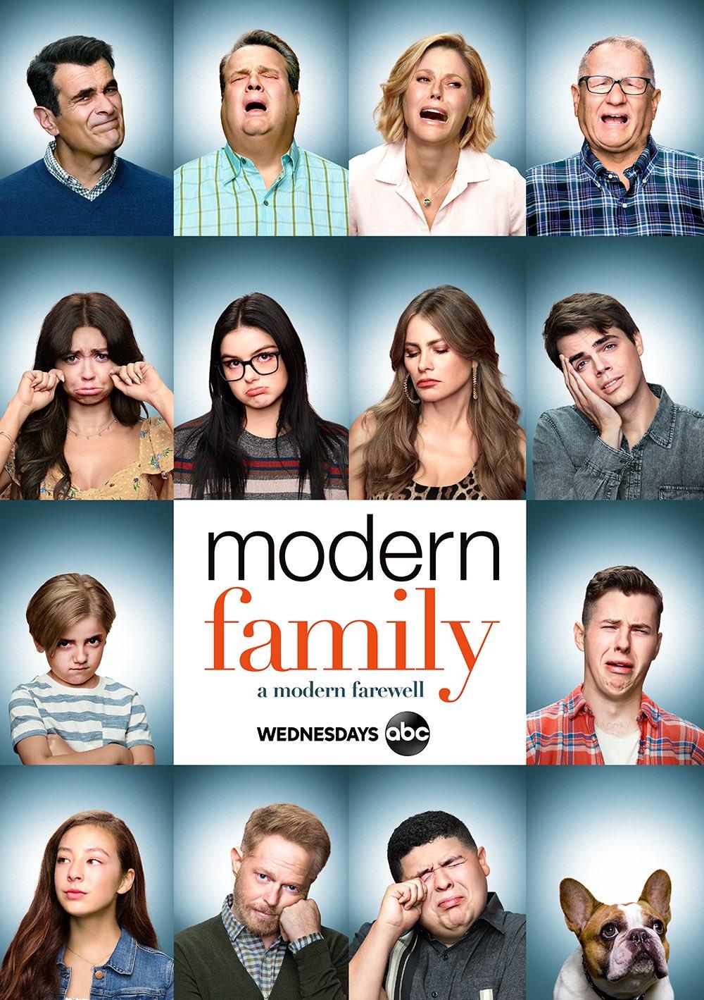 A Modern Family modern family: a modern farewell poster - modern family