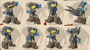 My Sonic Forces Character Victory Poses