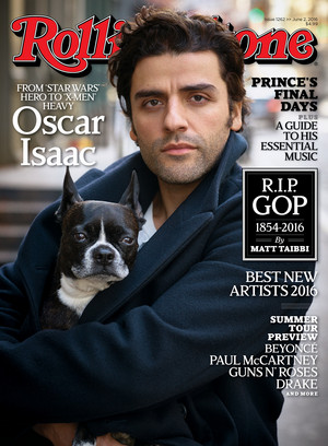 Oscar Isaac - Rolling Stone Cover - 2016