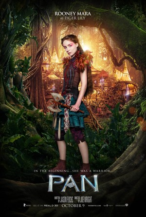 Pan (2015) Character Poster - Rooney Mara as Tiger Lily