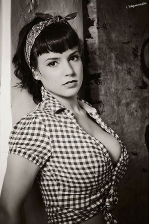 Rockabilly love Pin up