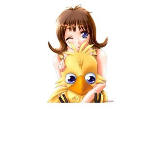 SELPHIE TILMITT AND CHOCOBO