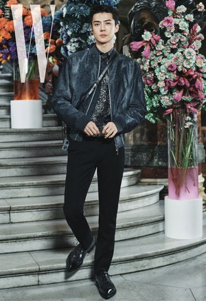 Sehun in Berluti 2020 Paris Fashion Week