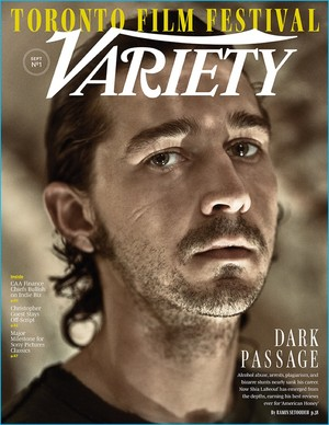Shia LaBeouf - Variety Cover - 2016