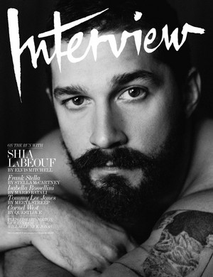Shia Labeouf - Interview Magazine Cover - 2014