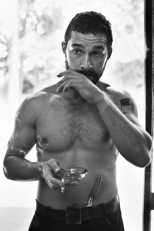 Shia Labeouf - Interview Magazine Photoshoot - 2014