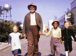 Song of the South - Behind the Scenes - Luana Patten, James Baskett, Glenn Leedy and Bobby Driscoll