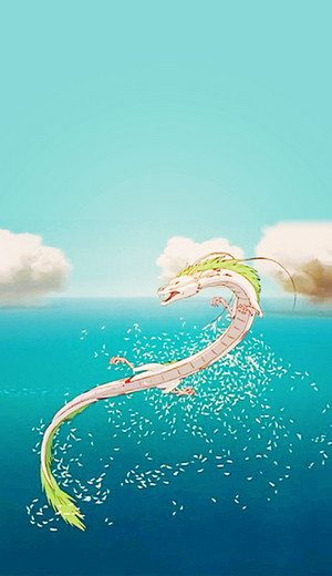 Spirited Away Phone kertas-kertas dinding
