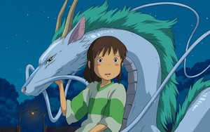 Spirited Away kertas-kertas dinding