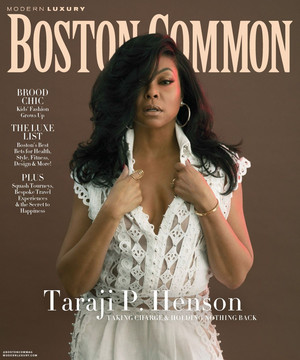 Taraji P. Henson - Boston Common Cover - 2019