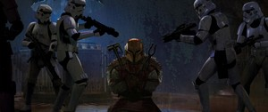 The Mandalorian - Chapter 8 - Redemption - end credit art