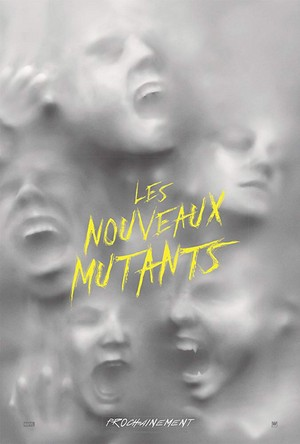 The New Mutants (2020) French Poster