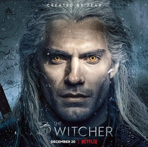 The Witcher - Season 1 Character Poster - Henry Cavill as Geralt