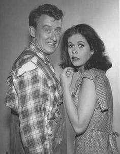 Tom poston and Elizabeth ---1961