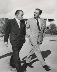 Walt Disney And Ed Sullivan