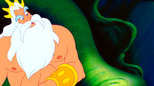 Walt डिज़्नी Screencaps – King Triton