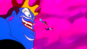Walt Disney Screencaps – Ursula, Princess Ariel & Prince Eric