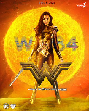 Wonder Woman 1984 (2020) -Movie Poster