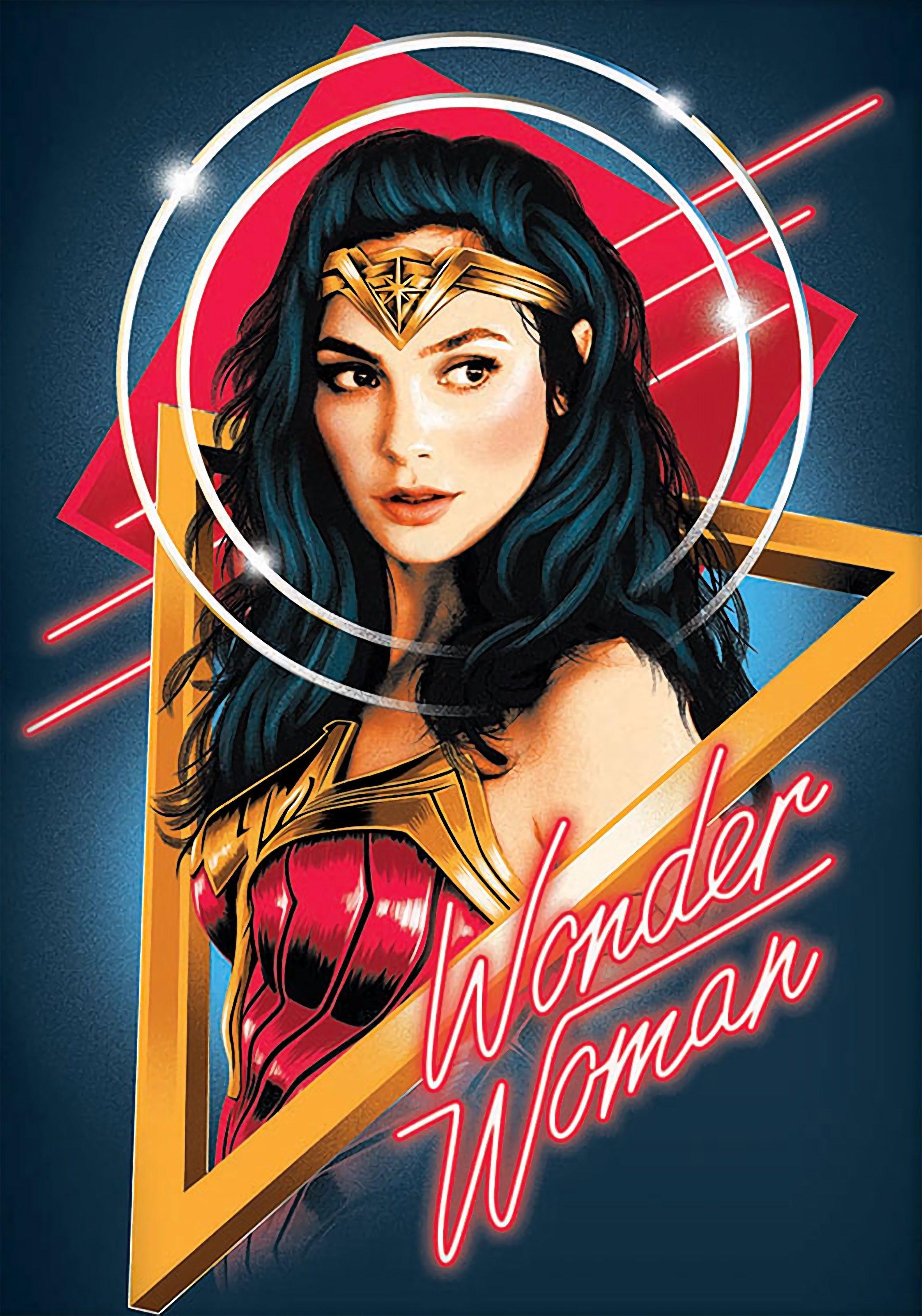 Wonder Woman 1984 2020 Poster Wonder Woman 2017 Foto 43131547 Fanpop