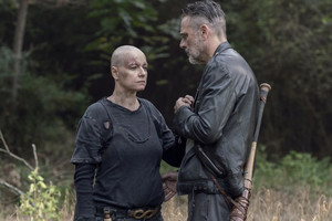 10x12 ~ Walk With Us ~ Alpha and Negan