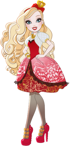 사과, 애플 White (Welcome to Ever After High Vector)