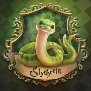 Baby Hogwarts House Crests by wylfi - Slytherin