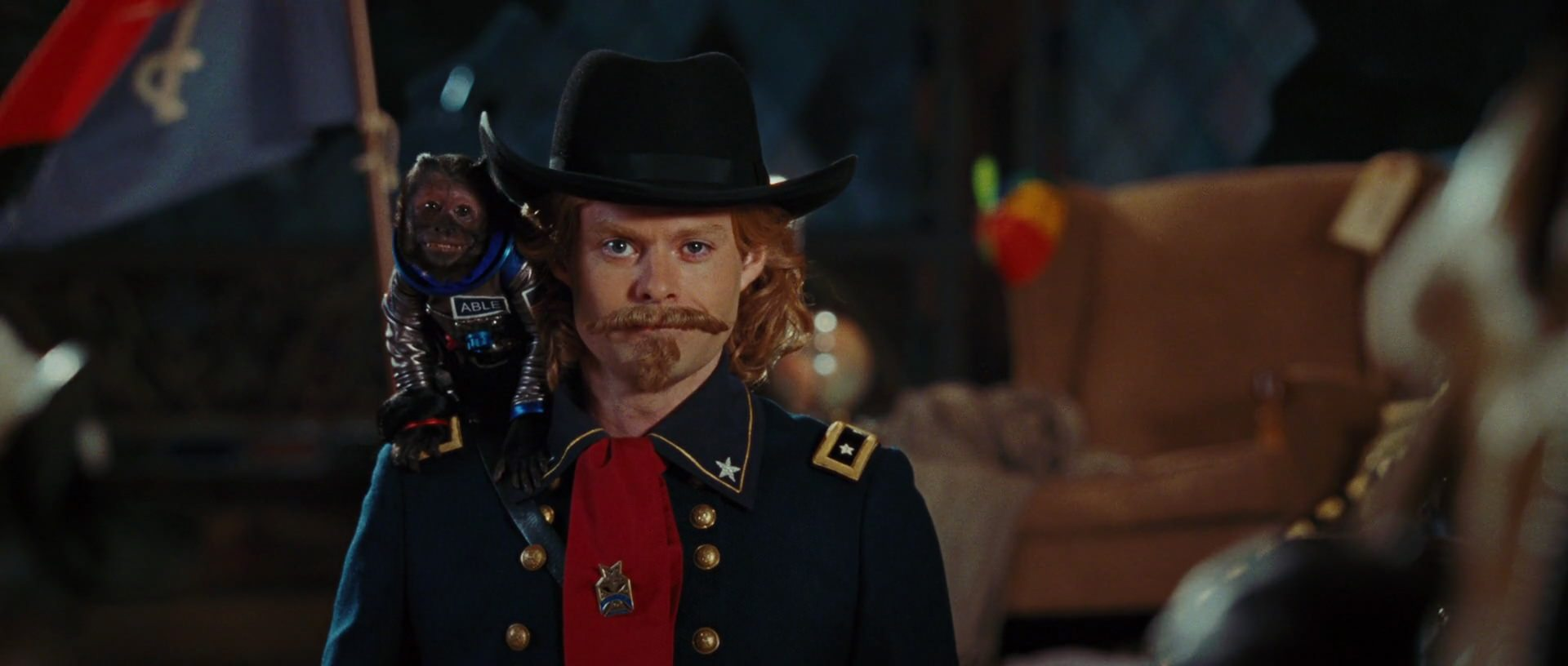 Bill Hader as George Armstrong Custer in Battle of the Smithsonian