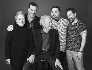 Clint with the cast of Richard Jewell