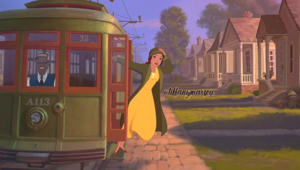 DP Crossover - Belle as Tiana