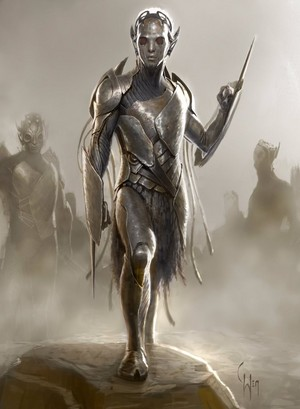 Dark Elves - Concept Art 의해 Charlie Wen
