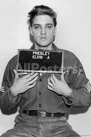 Elvis Presley 1958 Army Enlistment photo