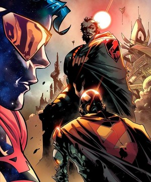Eradicator and Zod (Rebirth)