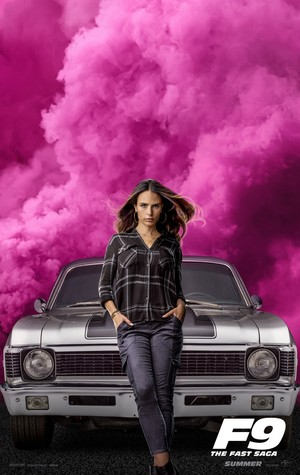 Fast and Furious 9 (2020) Character Poster - Jordana Brewster as Mia Toretto