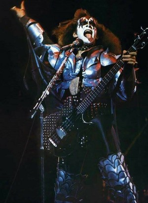 Gene ~Osaka, Japan...March 29, 1977 (Rock and Roll Over Tour)