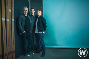 George MacKay, Dean-Charles Chapman and Sam Mendes - The avvolgere Photoshoot - 2019