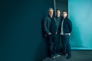 George MacKay, Dean-Charles Chapman and Sam Mendes - The bungkus, balut Photoshoot - 2019
