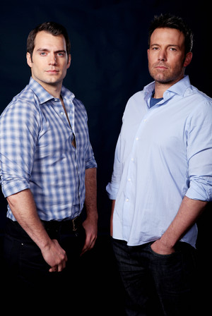 Henry Cavill and Ben Affleck - バットマン v. スーパーマン Photoshoot - 2016