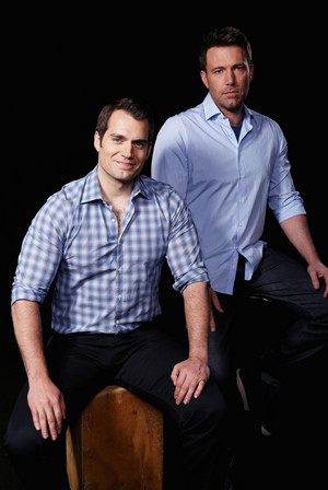 Henry Cavill and Ben Affleck - 배트맨 v. 슈퍼맨 Photoshoot - 2016