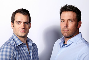 Henry Cavill and Ben Affleck - batman v. super-homem Photoshoot - 2016